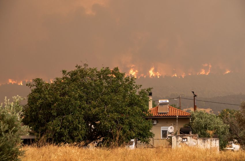 Πυροσβεστική: Οριοθετήθηκε η φωτιά στις Ερυθρές – 30 δασικές πυρκαγιές σήμερα