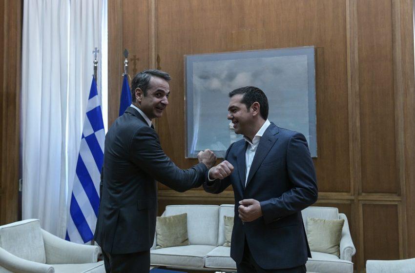 """Ο """"Κανένας"""", ο Μητσοτάκης, ο Τσίπρας και οι εκλογές…"""