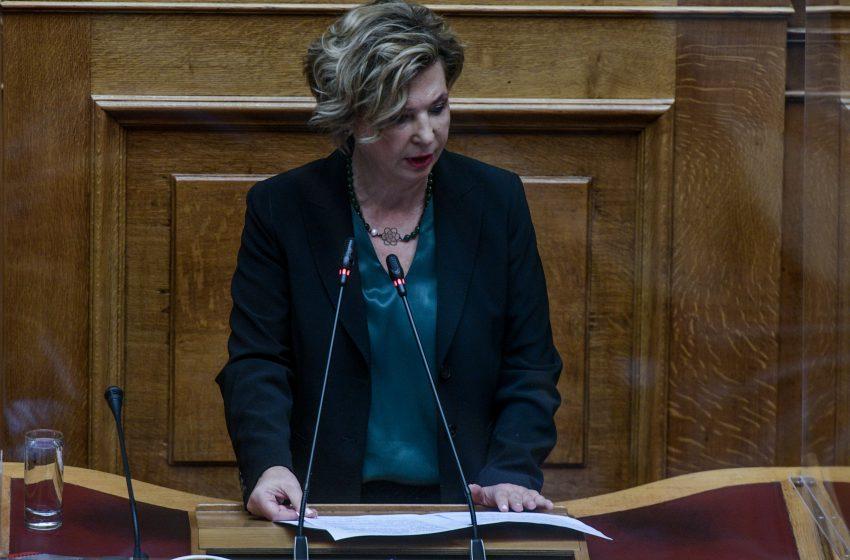 """Γεροβασίλη: Η συναίνεση κουράζει τον πρωθυπουργό, προτιμά το """"Μητσοτάκης ή χάος"""""""