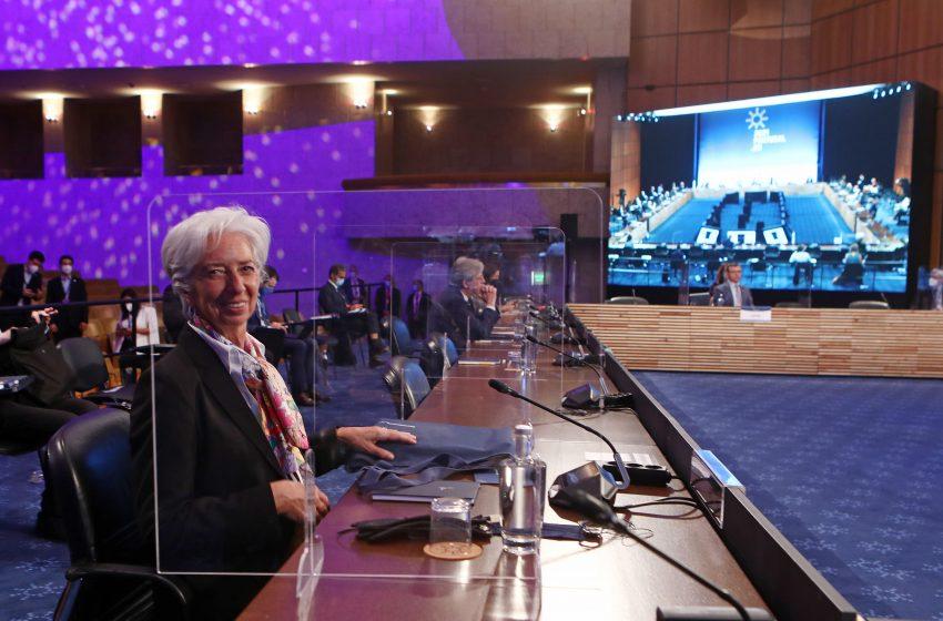 Λαγκάρντ: Άκαιρη και πρόωρη η συζήτηση για τα ελληνικά ομόλογα