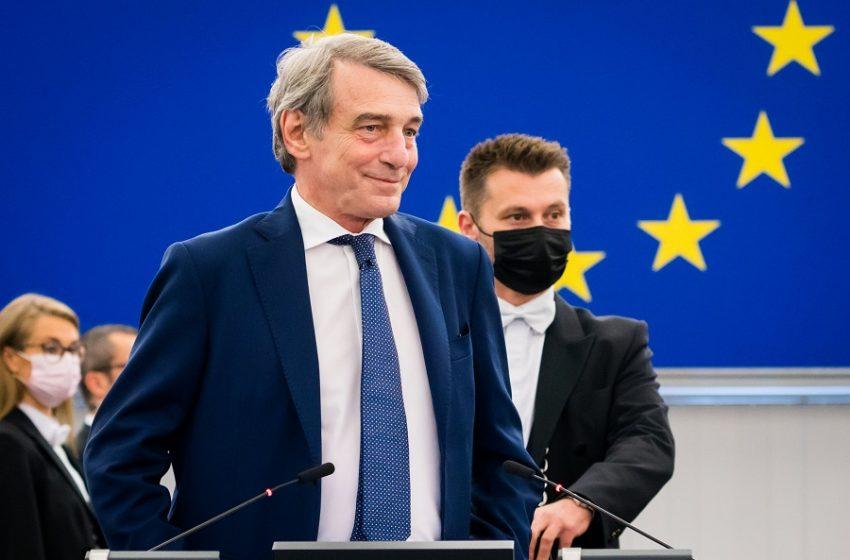 Νταβίντ Σασόλι: Στο νοσοκομείο με πνευμονία ο πρόεδρος του Ευρωπαϊκού Κοινοβουλίου