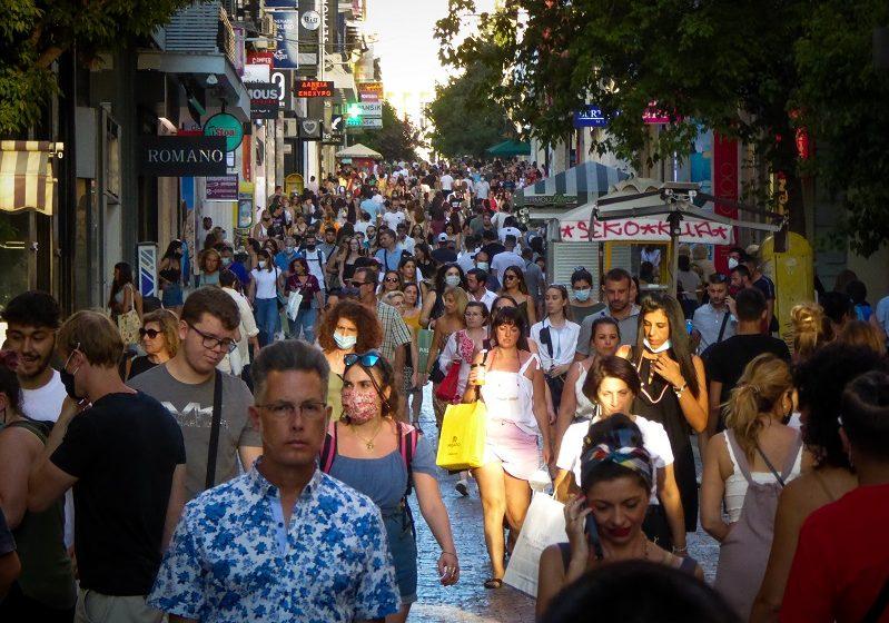 579 κρούσματα σε Αττική, 325 σε Θεσσαλονίκη – Η κατανομή των 2.187 νέων κρουσμάτων