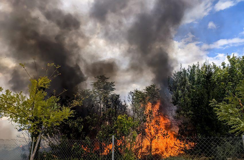 Πολιτική Προστασία: Πολύ υψηλός κίνδυνος πυρκαγιάς την Τρίτη, 7 Σεπτεμβρίου