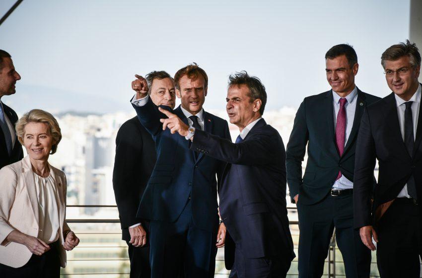 LIVE: Οι δηλώσεις των ηγετών της EUMED9