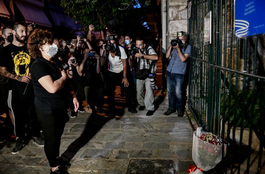 Πλήθος κόσμου στη μεγάλη Αντιφασιστική πορεία για την επέτειο της δολοφονίας του Παύλου Φύσσα