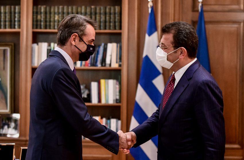 Το αντίπαλον δέος του Ερντογάν στην Αθήνα-Οι επαφές Ιμάμογλου με Μητσοτάκη-Μπακογιάννη