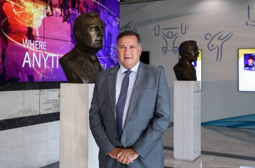 Σπύρος Καπράλος: Επανεξελέγη στην προεδρία της ΕΟΕ για 4η και τελευταία φορά