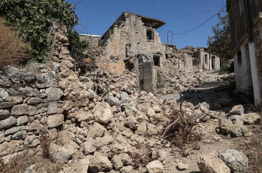 Κρήτη: 772 σπίτια μη κατοικήσιμα, 6 σχολεία ακατάλληλα