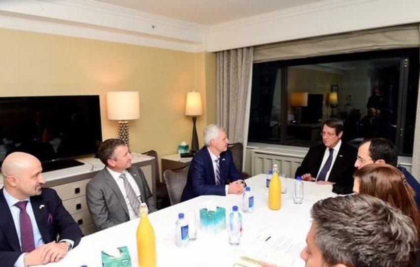 Συνάντηση Αναστασιάδη με αντιπροσωπεία της ExxonMobil
