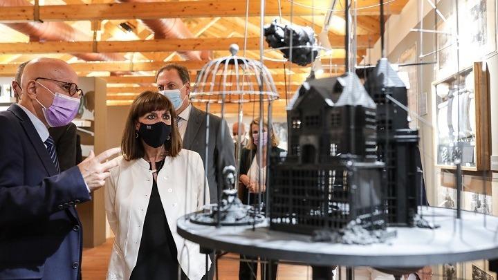 Έκθεση στο Γεωργικό Μουσείο εγκαινίασε η Πρόεδρος της Δημοκρατίας