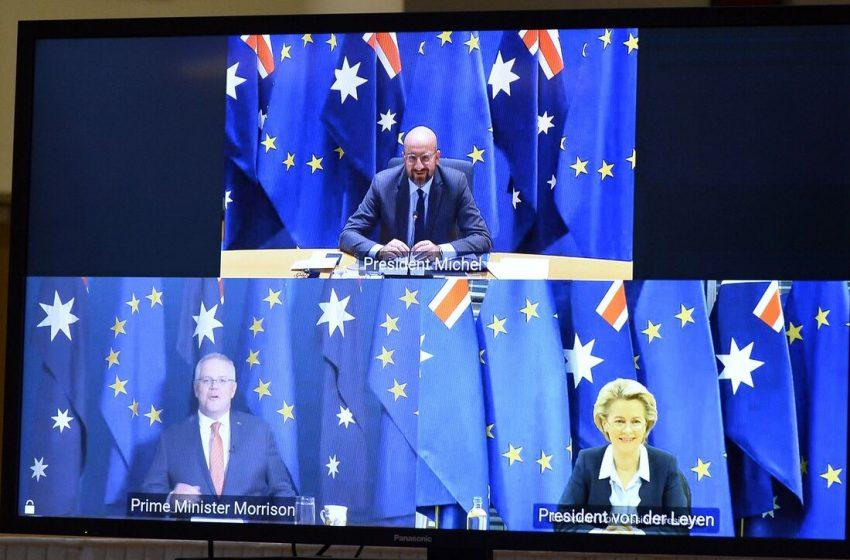 Βυθίζεται η εμπορική συμφωνία ΕΕ-Αυστραλίας λόγω της AUKUS