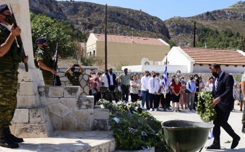 Παναγιωτόπουλος από Καστελλόριζο: Βρισκόμαστε στο σημείο από όπου αρχίζει η Ελλάδα και ο νησιωτικός χώρος της