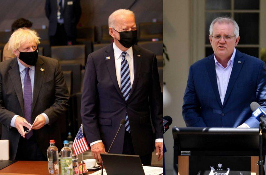 Μπάιντεν, Τζόνσον και Μόρισον θα κάνουν κοινή δήλωση για «θέμα εθνικής ασφάλειας»