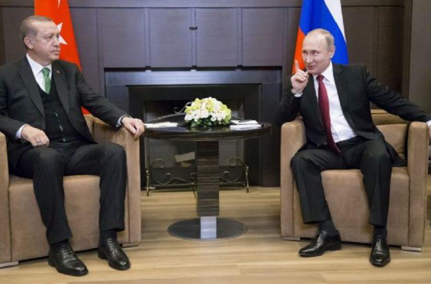 Συνάντηση Πούτιν – Ερντογάν – Τι συζήτησαν οι δύο ηγέτες