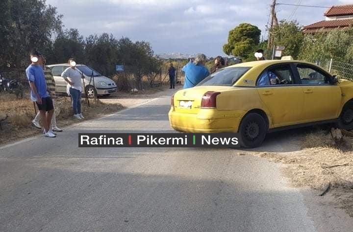Σπάτα: Ταξιτζής υπέστη ανακοπή και έπεσε σε κολώνα