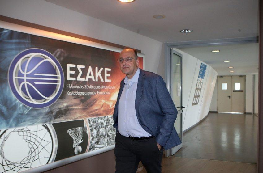 Νέος πρόεδρος της ΕΟΚ ο Λιόλιος -Τέλος εποχής για Βασιλακόπουλο