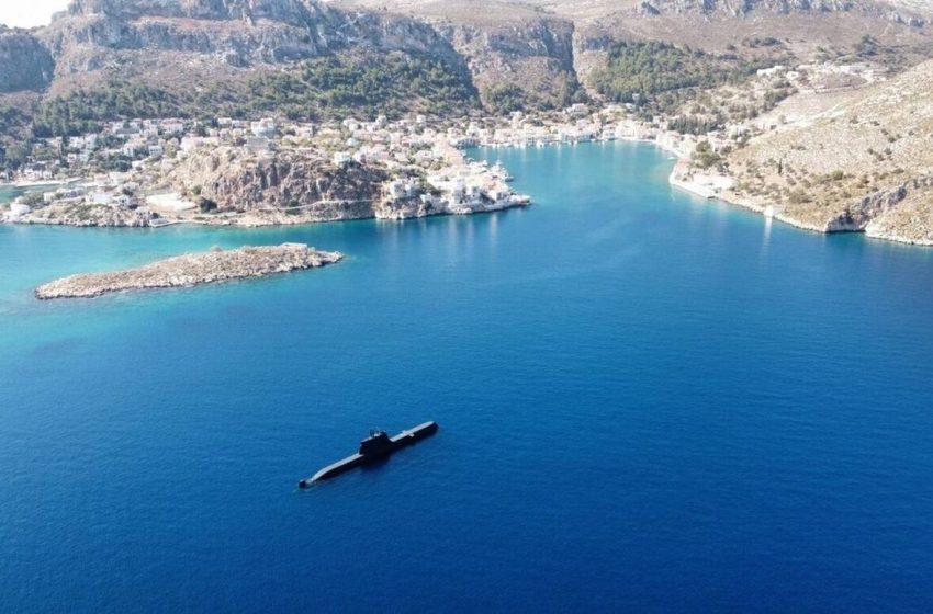 """Στο Καστελόριζο το υποβρύχιο """"Παπανικολής"""" – Το τρολάρισμα του στρατηγού Φλώρου στους Τούρκους"""