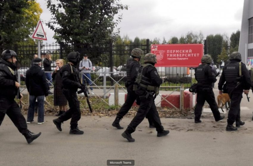 Ρωσία: Ζωντανός ο δράστης της επίθεσης στο Πανεπιστήμιο – Νοσηλεύεται με τραύματα σε νοσοκομείο