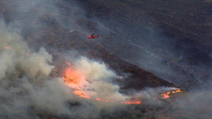Υπό έλεγχο με τη βοήθεια της βροχής η μεγάλη φωτιά στην Ανδαλουσία