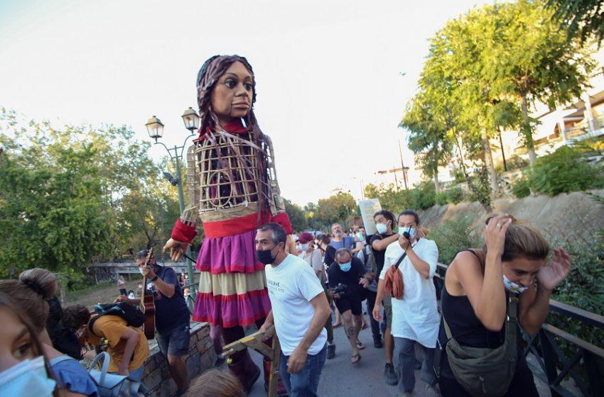 """Ενόχλησε ο συμβολισμός της """"Αμάλ"""": Επεισοδιακή η έλευση στην Λάρισα (vid)"""