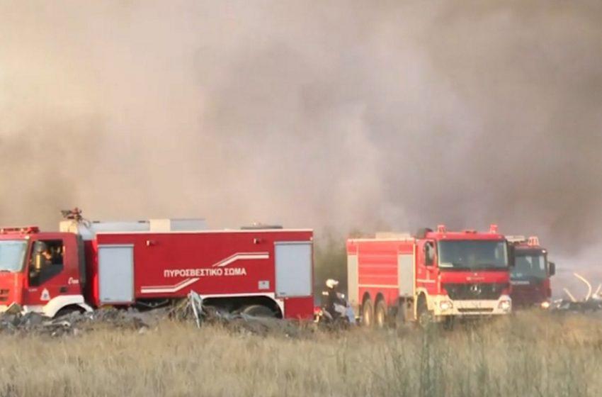 Φωτιά στην Αχαϊα – Καίγεται δάσος