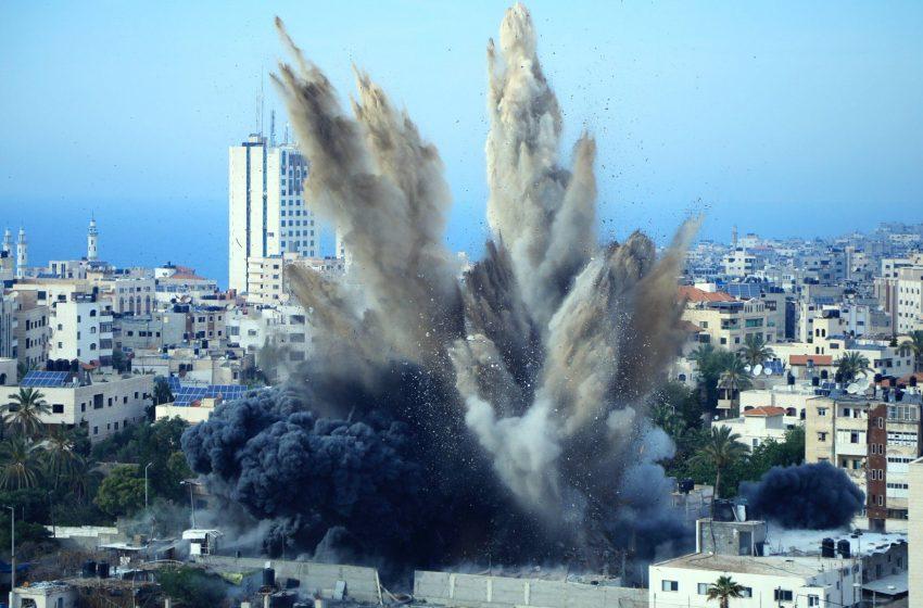 Ισραηλινά μαχητικά αεροσκάφη έπληξαν εγκαταστάσεις της Χαμάς στη Γάζα