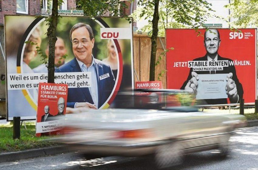 Γερμανία: Στις τρεις μονάδες περιορίζεται η διαφορά SPD και CDU/CSU