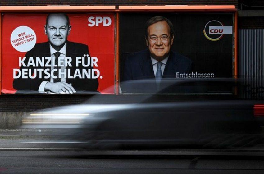 Γερμανία-εκλογές: Θρίλερ – Στη μία μονάδα η διαφορά του SPD από τη CDU/CSU