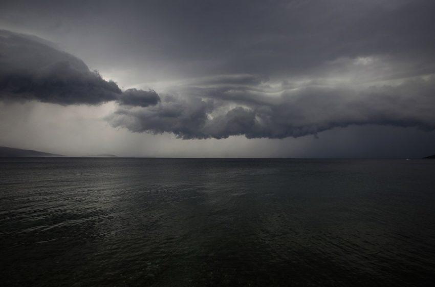Ξαφνική αλλαγή του καιρού με πτώση θερμοκρασίας και έντονα φαινόμενα