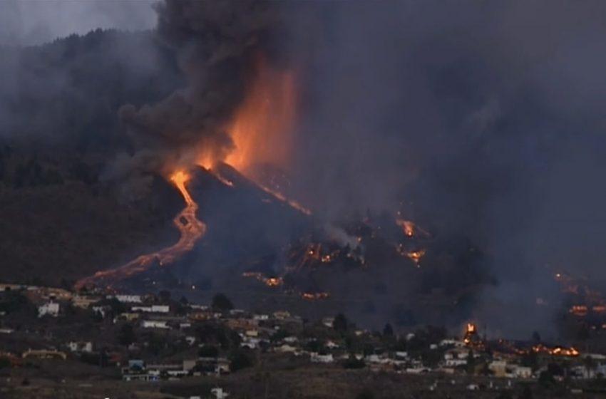 Ισπανία: Η λάβα από το ηφαίστειο θα φθάσει στη θάλασσα στις 8 το βράδυ