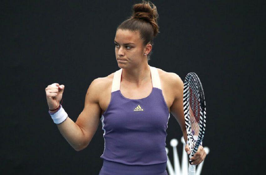 Τρομερή Σάκκαρη, νίκησε 2-0 σετ τη Σβιόντεκ και πέρασε στον τελικό του Ostrava Open