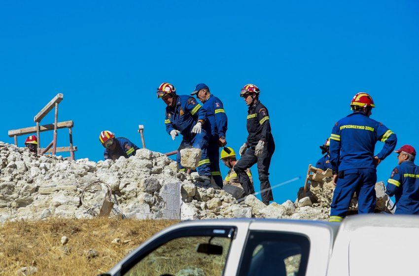 Σεισμός στην Κρήτη: Πολεμικό σκηνικό με κατεστραμμένα χωριά