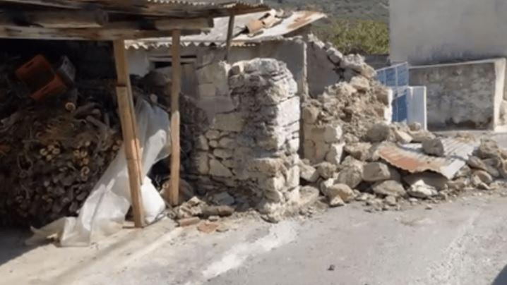 Σεισμός-Κρήτη: Είδα τον αδελφικό μου φίλο να καταπλακώνεται από τα συντρίμμια και να πεθαίνει (Vid)