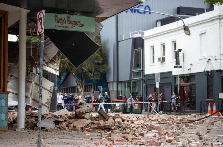 Μεγάλος σεισμός 5,9 Ρίχτερ έξω από Μελβούρνη – Ασυνήθιστο φαινόμενο, συντρίμμια στους δρόμους (vid)