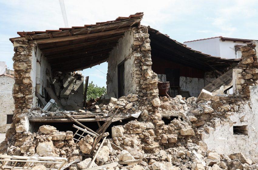 Τεράστιες καταστροφές στα χωριά του Δήμου Ηρακλείου – Σπίτια και εκκλησίες υπό κατάρρευση, άνθρωποι άστεγοι