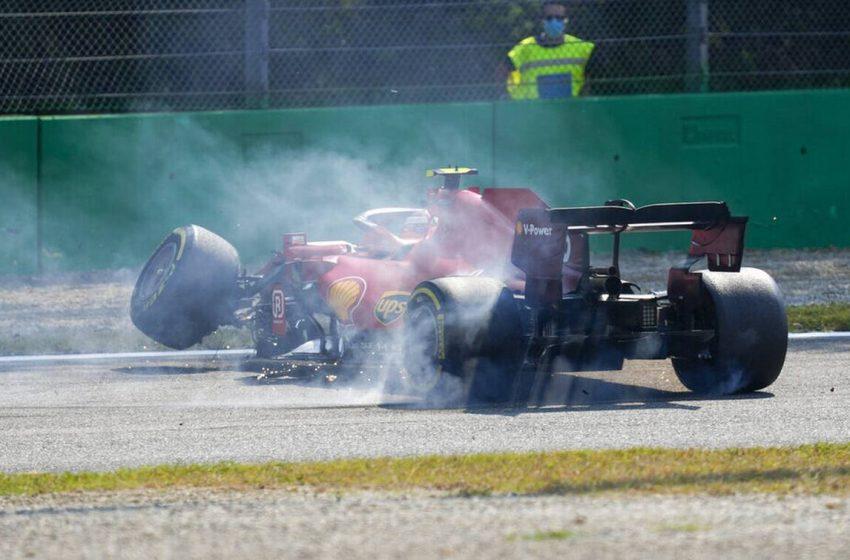Formula 1: Ασχημο ατύχημα για τον Σάινθ της Ferrari