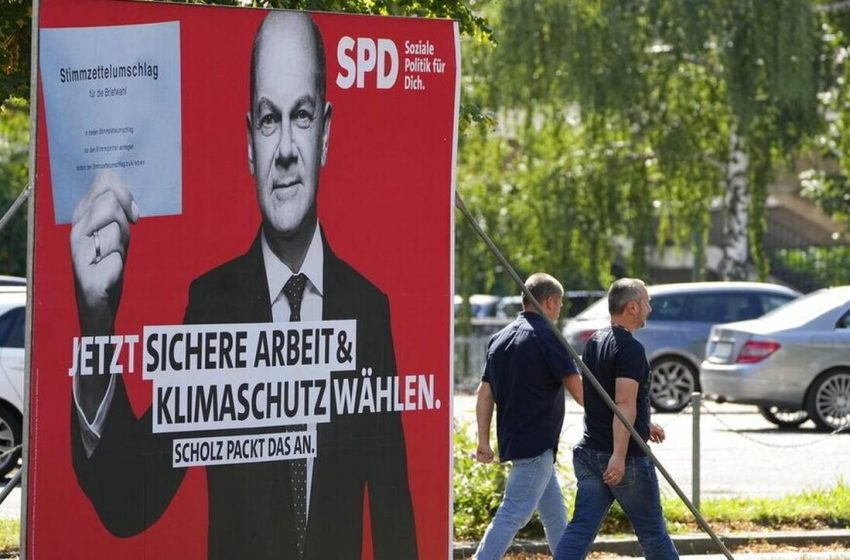 Οι Σοσιαλδημοκράτες διευρύνουν το προβάδισμά τους έναντι των συντηρητικών ενόψει των γερμανικών εκλογών