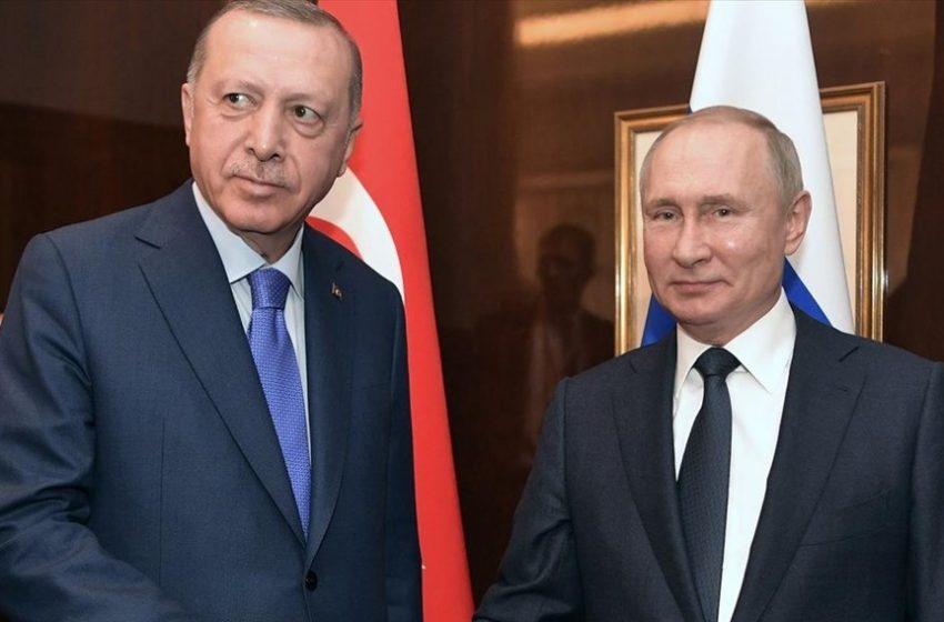 Συνάντηση Ερντογάν – Πούτιν στις 29 Σεπτεμβρίου