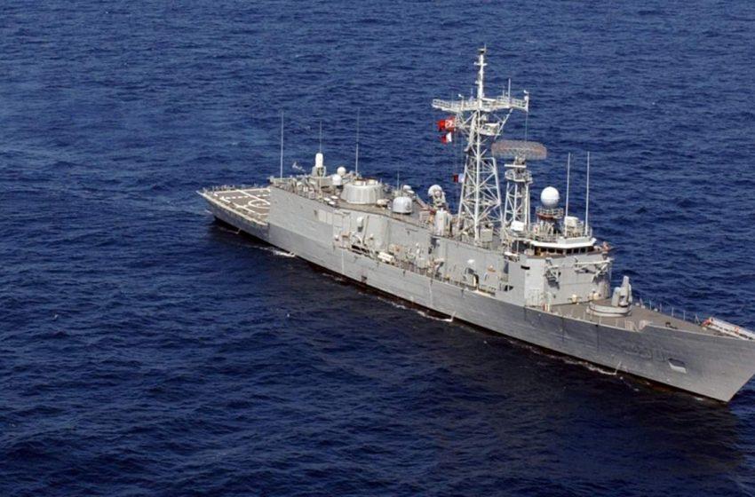 Τουρκική πρόκληση με πολεμικό πλοίο μεταξύ Ρόδου -Καστελόριζου