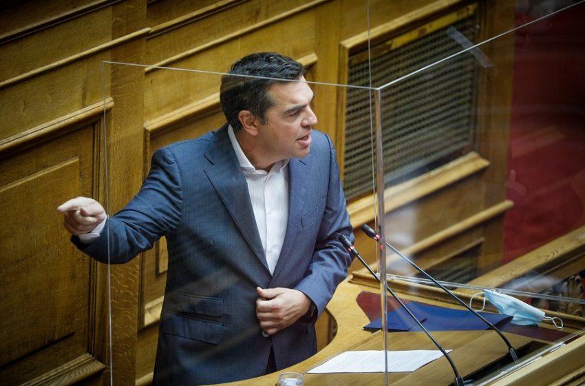 """Τσίπρας κατά Μητσοτάκη σχετικά με την πρόταση στον Αποστολάκη: """"Επί μία εβδομάδα, ενώ γνώριζα, δεν μου τηλεφώνησε"""""""