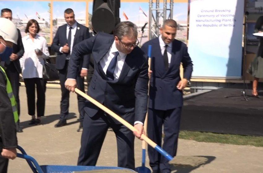 Θεμελιώθηκε εργοστάσιο της κινεζικής Sinopharm στο Βελιγράδι