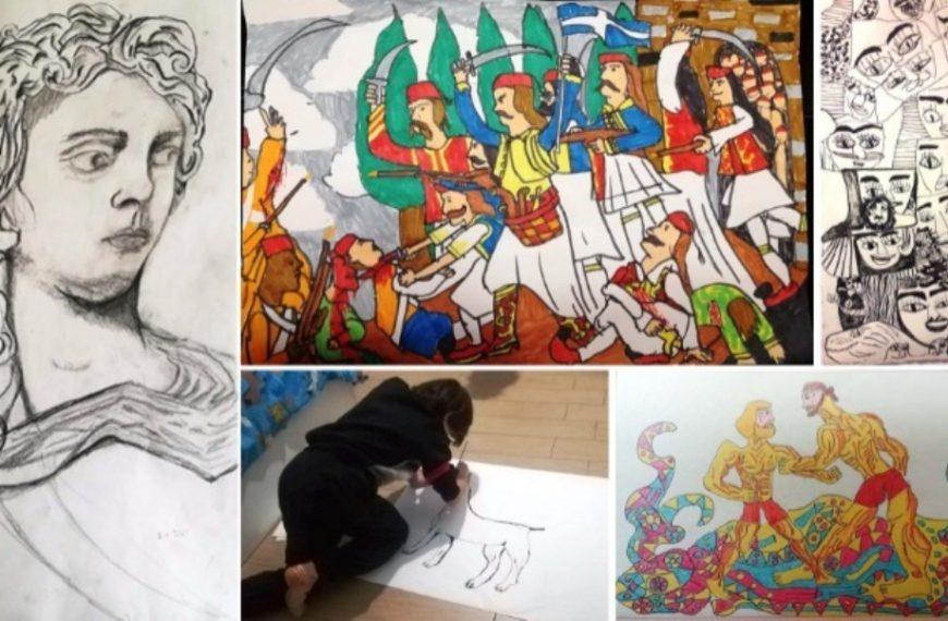 Η ζωγραφιά 11χρονου κέρδισε βραβείο των ΕΛΤΑ κι έγινε γραμματόσημο