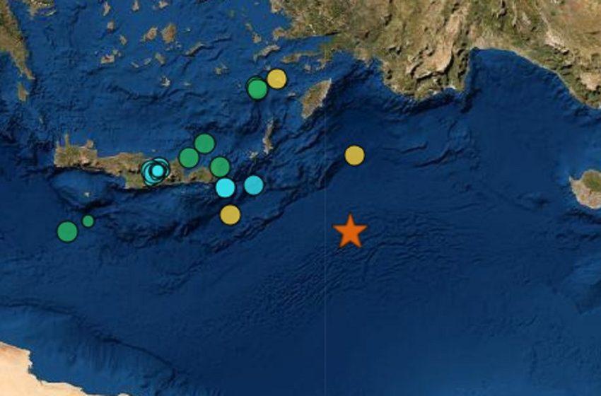 Σεισμός 6,1 Ρίχτερ ανοιχτά της Καρπάθου