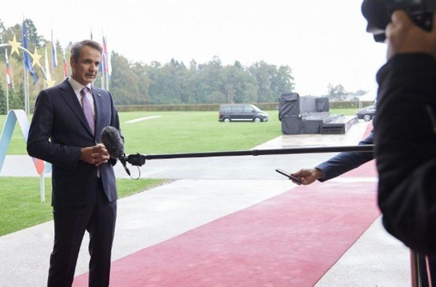 Μητσοτάκης: Κάποιοι δεν μπορούν να δουν πέρα από τις κομματικές παρωπίδες το πραγματικό εθνικό συμφέρον της χώρας