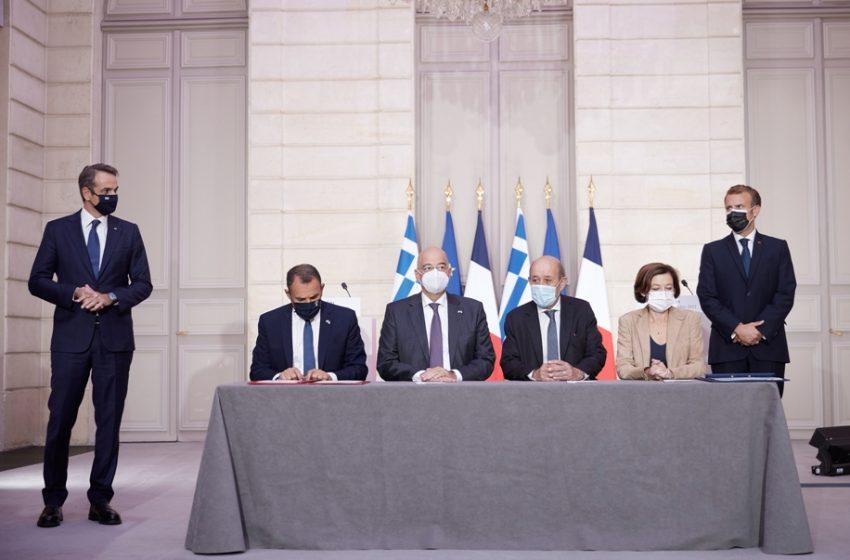 """EURACTIV: """"Εκτός ελληνογαλλικής συμφωνίας η ΑΟΖ """"- Επιβεβαιώνει το γαλλικό υπουργείο Άμυνας"""
