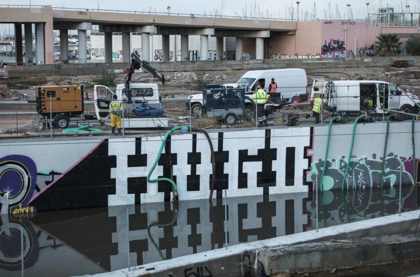 Κηφισός: Τα έργα στο Φάληρο προκάλεσαν τις πλημμύρες – Ευθύνες στην Περιφέρεια και στους δήμους από τον Πέτσα