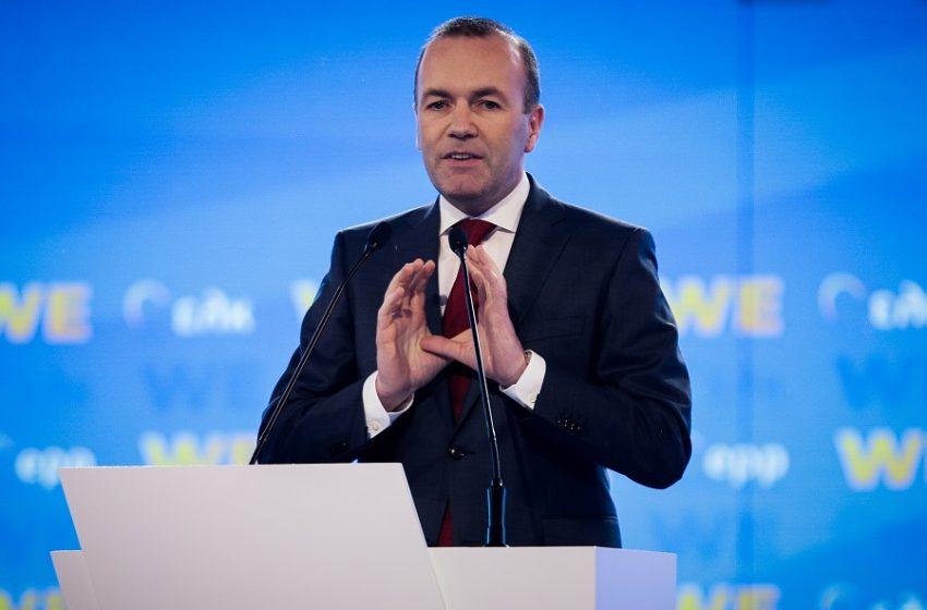 Με 93,7% ο Βέμπερ παραμένει στο «τιμόνι» της Ευρωπαϊκού Λαϊκού Κόμματος