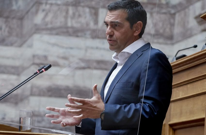 LIVE η εισήγηση Τσίπρα στη συνεδρίαση Πολιτικού Συμβουλίου και Κοινοβουλευτικής Ομάδας