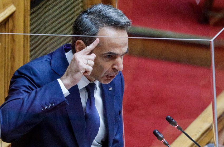 Μητσοτάκης σε Τσίπρα – Πείτε αν θα καταργήσετε την ελληνογαλλική συμφωνία με ένα νόμο και ένα άρθρο