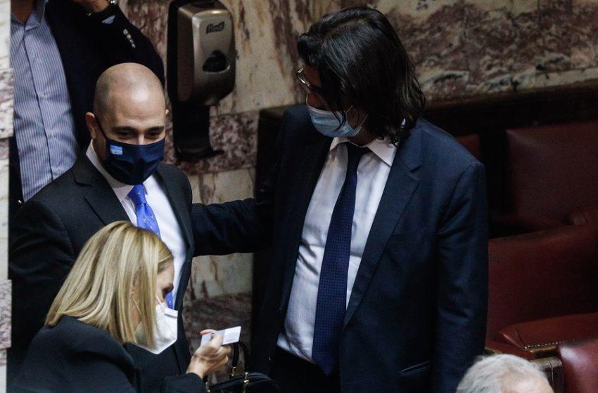 Μπογδάνος μετά την ψήφο του υπέρ της συμφωνίας: Έχουμε όλοι θέση στην πλειοψηφία
